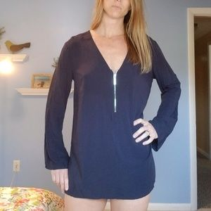 Michael Kors navy swimsuit coverup. Small.